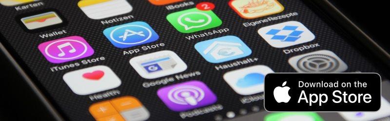 App header